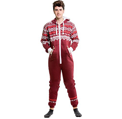 0aa0a002b363 SkylineWears Men s XX-Large Fashion Onesie Jumpsuit one Piece non Footed  Pajamas