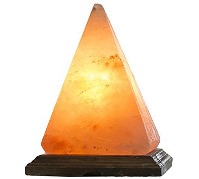 Himalayan Salt Lamps Made In Usa : Himalayan Pyramid Crystal Rock Hand Made Pink Sea USB Salt Rock Lamp 3