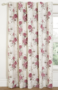 Floral printed blackout window door 1 panal rod pocket top curtains s l1600 7 mightylinksfo